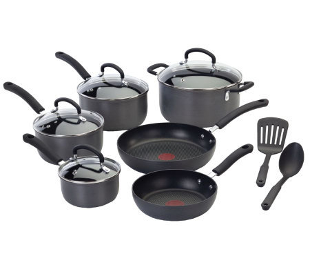 T Fal E918sc64 Ultimate Hard Anodized 12 Piececookware Set