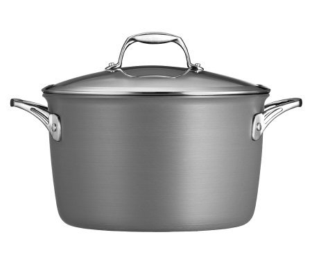 Tramontina Gourmet Hard-Anodized 8-qt Covered Stock Pot