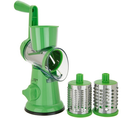 """As Is"" House2Home Countertop Suction Slicer and Grater"