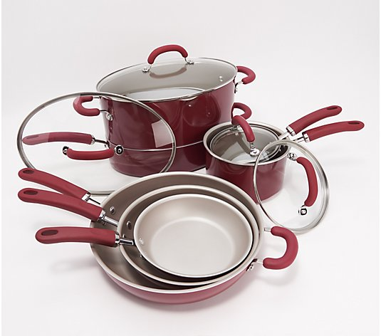 Rachael Ray Create Delicious Aluminum 11-pc Cookware Set
