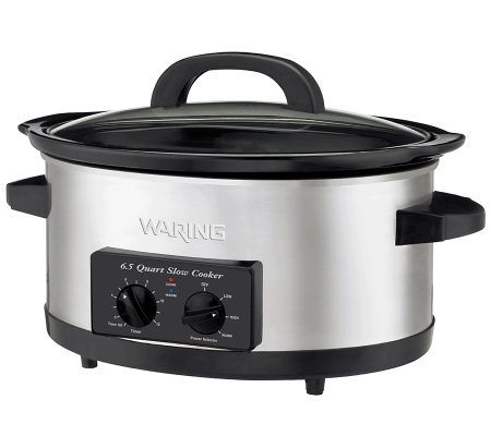 Waring Pro 6.5-qt Professional Slow Cooker w/ Serve Pot