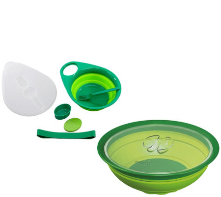 Squish 7 Piece Salad Set