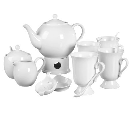 Tabletops Gallery Denmark 17-Pc Tea Set