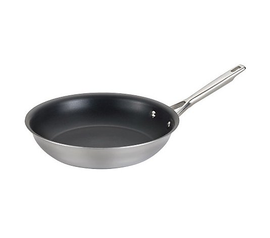 "Anolon Tri-Ply Clad Stainless Steel 12-3/4"" French Skillet"