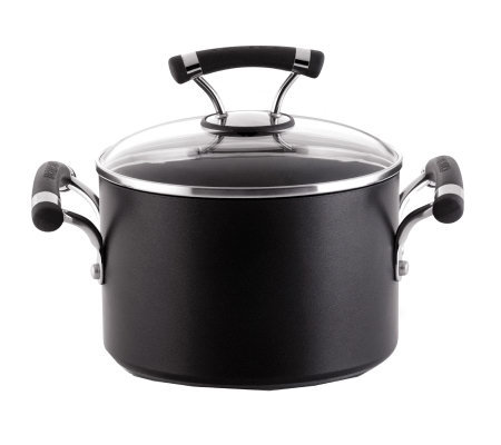 Circulon Contempo Hard-Anodized 3-Qt Covered Sauce Pot