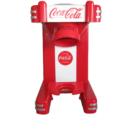 Nostalgia Electrics Coca Cola Series Single Snow Cone Maker