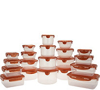 Lock & Lock 20-Piece Multishape Nestable Storage Set - K47094