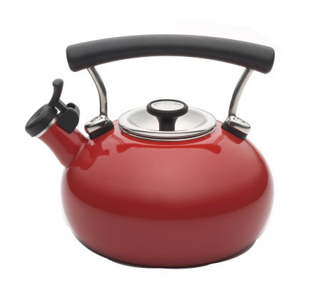 Circulon Contempo 2-qt Whistling Teakettle - Red