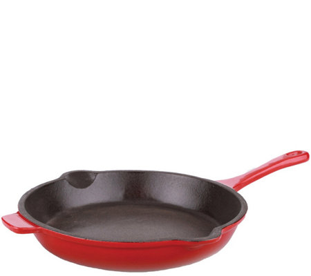 "BergHOFF 10"" Neo Cast-Iron Fry Pan - Red"
