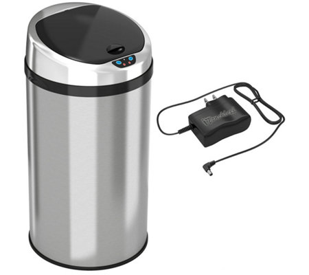 itouchless 8-Gallon Round Trash Can