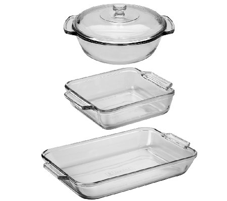 Anchor Hocking 4-Piece Bake Set
