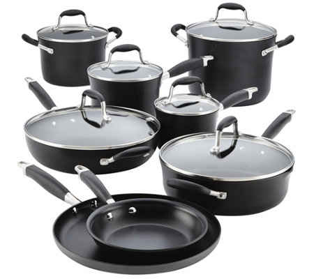 Anolon Advanced Hard-Anodized 14-Piece CookwareSet