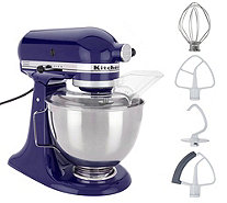 KitchenAid 4.5-qt 300W Tilt-Head Stand Mixer w/ Flex Edge - K48297