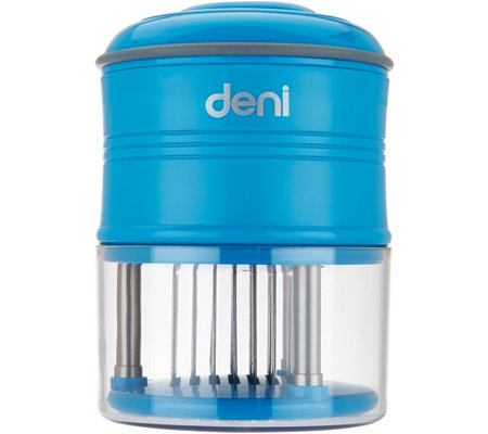 """As Is"" Deni 56 Stainless Steel Removable Blade Meat Tenderizer"
