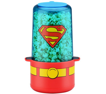 DC Comics Superman 6-Cup Popcorn Popper