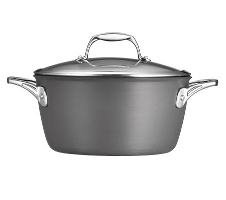 Tramontina Gourmet Hard-Anodized 5-qt Covered Dutch Oven