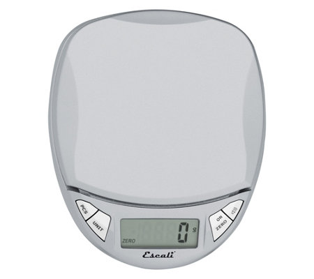Escali Pico Digital Scale Silver Gray