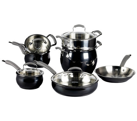 Epicurious 11-Piece Stainless Steel Cookware Set
