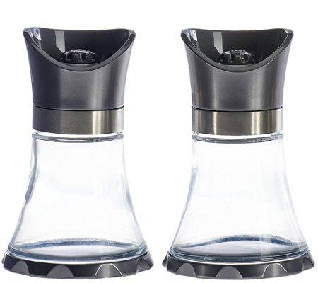 Kuhn Rikon S2 Large Metallic Finish Glass Vase Grinders Page 1