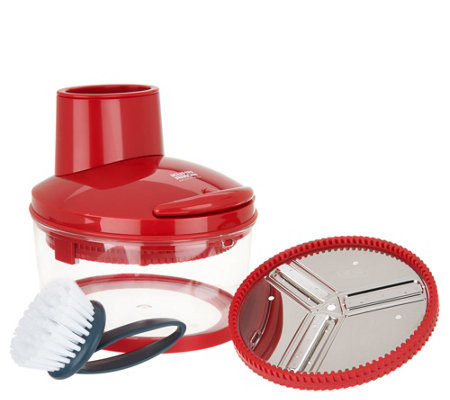Kuhn Rikon 4-Cup Easy Cut Food Slicer & Grater