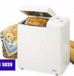 oster 5839 2 lb deluxe extra large bread anddough maker qvc com rh qvc com Oster Bread Machine Manual 4811 Oster 5821 Bread Machine Manual