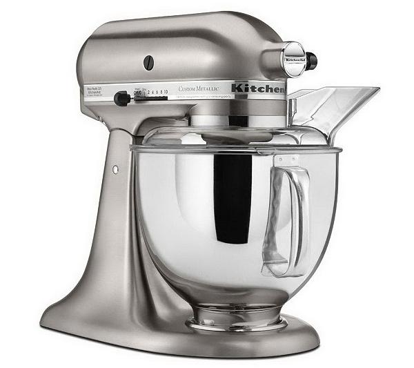 KitchenAid 5-qt Metallic Series Stand Mixer - Page 1 — QVC.com