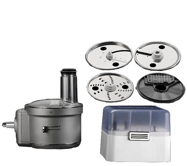 KitchenAid Food Processor Stand Mixer Attachment & Dicing Kit — QVC.com