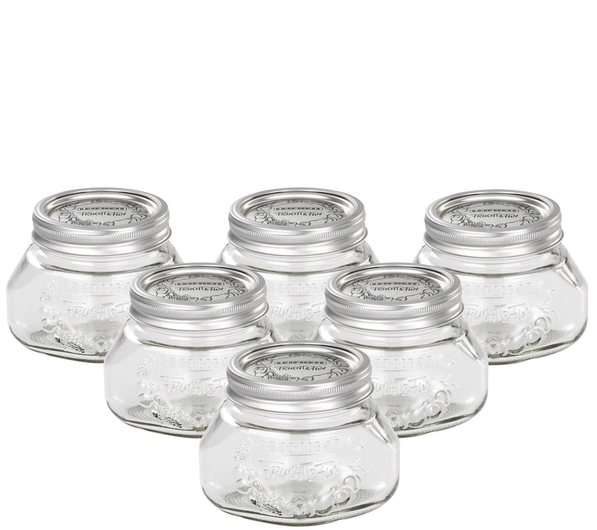 sc 1 st  QVC.com & Leifheit 17-oz Glass Wide-Mouth Mason Canning Jar - Page 1 u2014 QVC.com