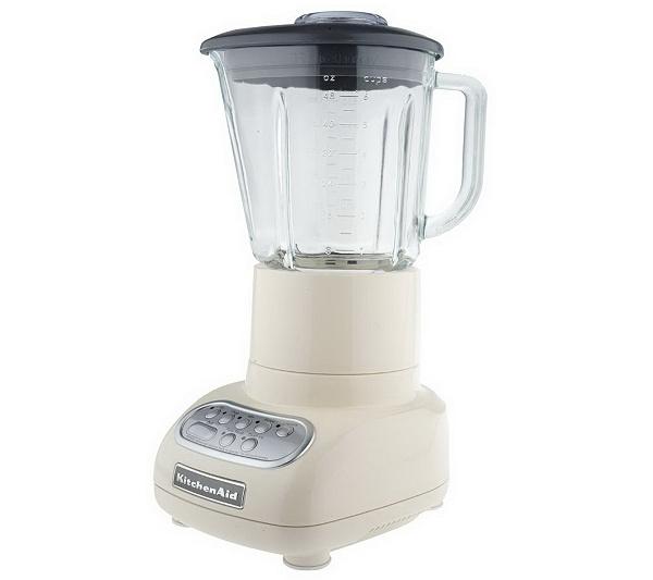 kitchenaid 5 speed blender w 48oz glass pitcher page 1 qvc com