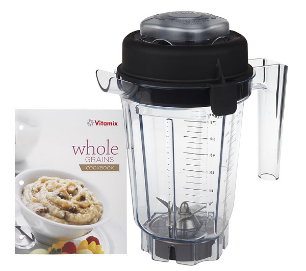 Vitamix 32oz dry blade blending container wlid cookbook qvc forumfinder Choice Image