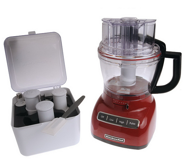 KitchenAid 13 Cup 3-in-1 Wide Mouth Food Processor w/ Accessories — QVC.com