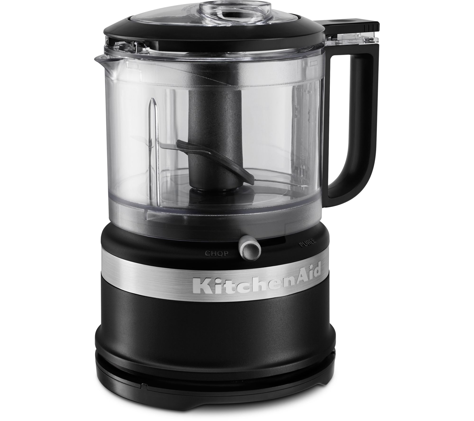 KitchenAid 3.5 Cup Mini Food Processor   MatteBlack U2014 QVC.com