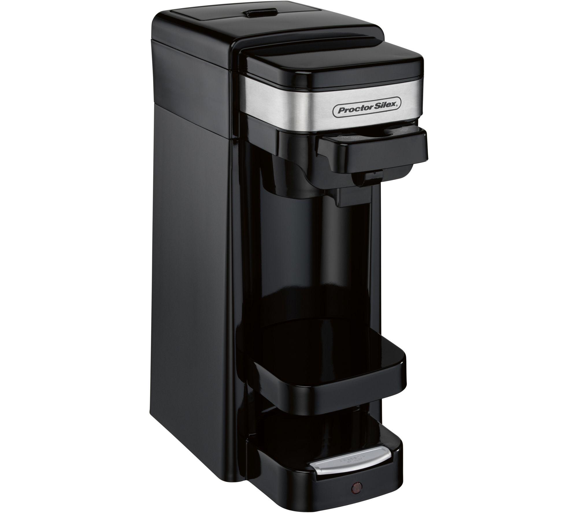 proctor silex single serve plus coffee maker qvc com rh qvc com proctor silex coffee maker 45100 manual proctor silex single serve coffee maker manual