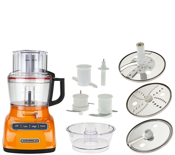 Kitchenaid 9 Cup Exactslice Food Processor W Julienne Disc Back To Video