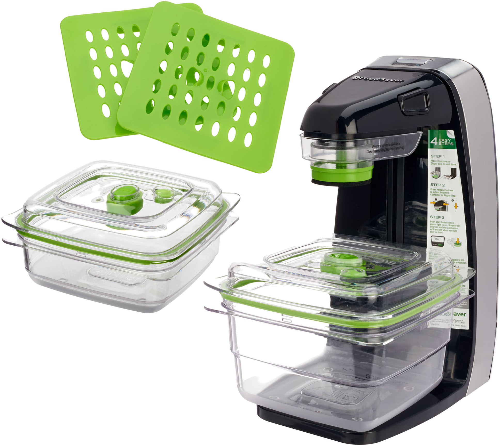 Foodsaver Freshsaver W Containers Zipper Bags Page 1 Qvc Com