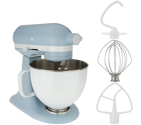 KitchenAid 100-Year Limited Edition 5-qt Stand Mixer — QVC.com