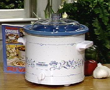 Rival 3 1 2 Qt Crock Pot Slow Cooker W Removable Liner QVC