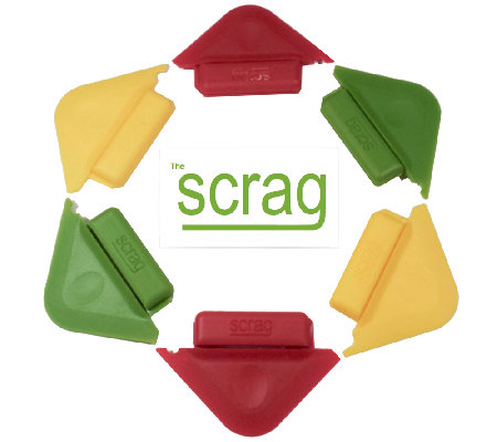 Scrag Set of 6 Multi-use Cleaning Tools