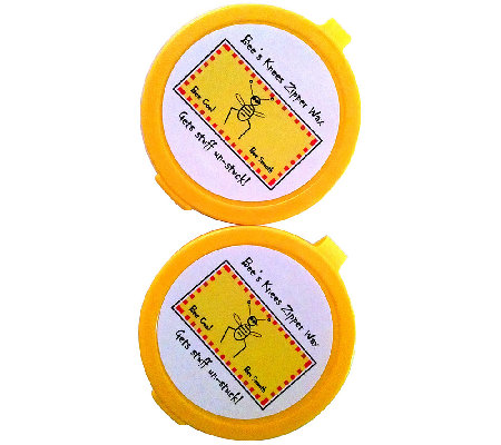 Bee's Knees Set of 2 Multi-Purpose 100% Bee's Wax Discs