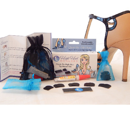 Set of Two High Heel Healers Repair and Protect Kit