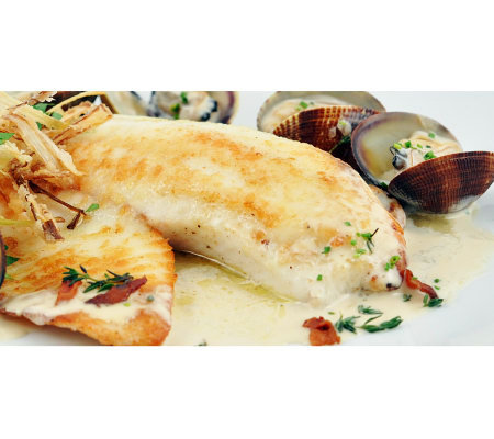 Anderson Seafoods Fresh Tilapia (6) 6-oz Filets