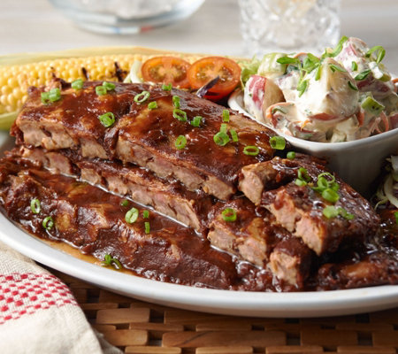 Bubba's Q (5) 18 oz. Boneless Baby Back Ribs Auto-Delivery