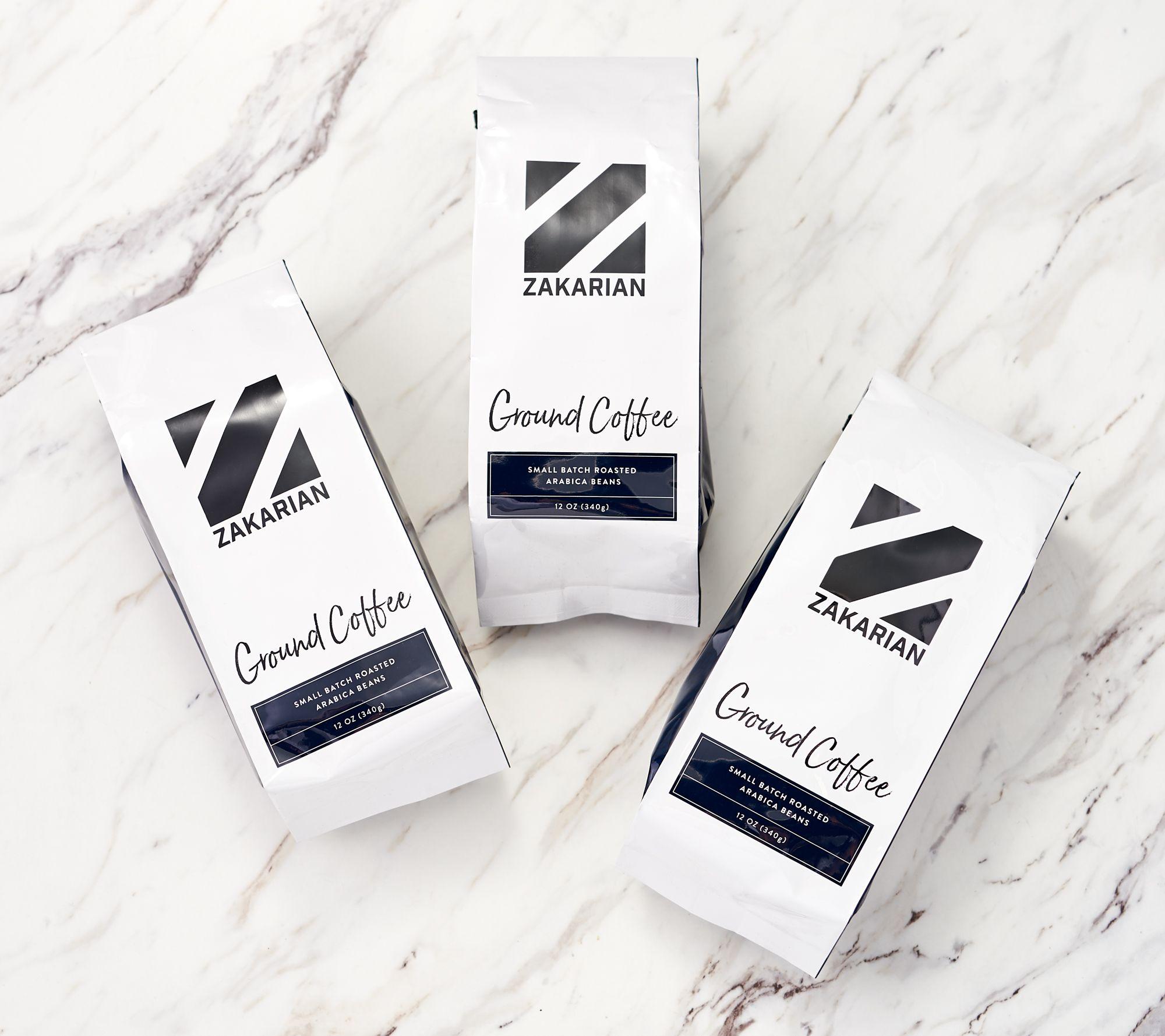 3-Pack Geoffrey Zakarian Arabica Coffee 12-oz Bag