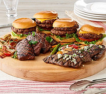 "Rastelli 10-lb ""Best of Rastelli"" Steak & Burger Sampler - M57301"