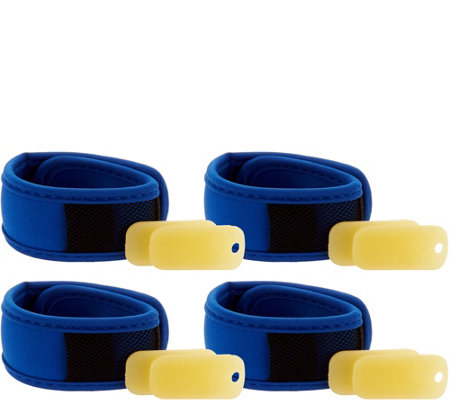 Evergreen (4) Z-Fence Mosquito Repellant Wristbands