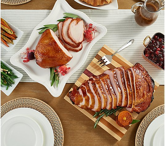 Corky's 5-lb. Turkey, Ham or Ultimate Holiday Dinner with Sides