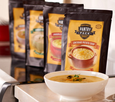 Maggie & Mary's Pantry Pack 4 Count Gourmet Soup Mix Assortment