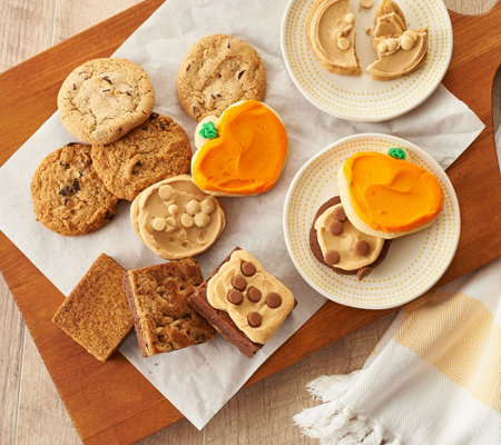 Cheryl's 22-Piece Fall Cookie and Brownie Assortment