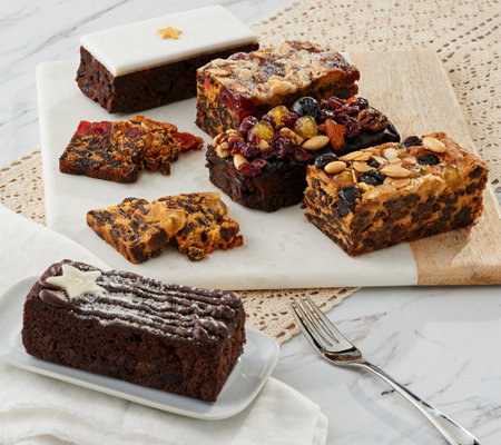 The Original Cake Co. 5-Piece Holiday Cake Sampler