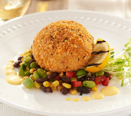 Great Gourmet (12) 8-oz Colossal Breaded Crab Cakes